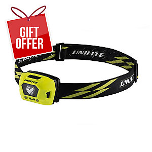 Unilite Hl-4R Led Headlight 275Lm Black