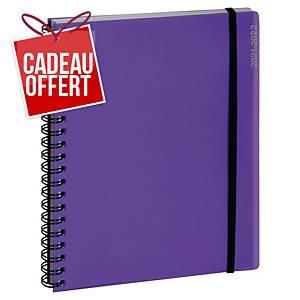 Agenda semainier Exacompta Iderama SAD 19W - 2020/2021 - 14 x 18 cm - violet