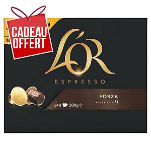 Café L Or Espresso Forza - paquet de 40 capsules