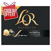 Café L Or Espresso Ristretto - boîte de 40 capsules