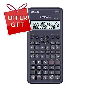 CASIO Fx-350Ms-2 Scientific Calculator 10+2 Digits