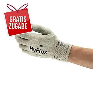 Mechanikschutzhandschuhe HyFlex 11-132, Größe: 9, braun/weiß, 1 Paar