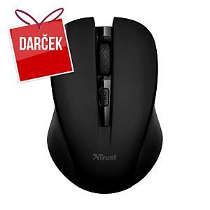 Bezdrôtová optická myš Trust Mydo Silent Click, čierna