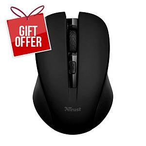 TRUST MYDO 21869 wireless mouse black