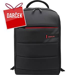 """Dizajnový 15,6"""" batoh BESTLIFE na notebook s USB a Type-C konektorom, čierny"""