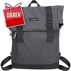 Designový 15,6  batoh BESTLIFE, šedý
