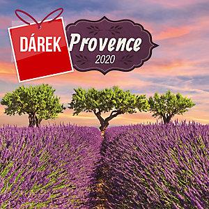 Poznámkový nástěnný kalendář PRESCO Provence 2020, s vůní