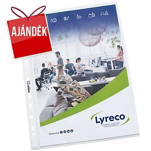 Lyreco Budget matt genotherm A4, 55 mikron, 100 darab/csomag