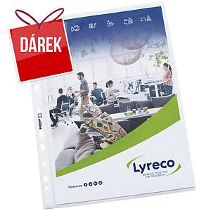 Euroobal matný Lyreco Budget 55 mikronů - A4, 100 ks