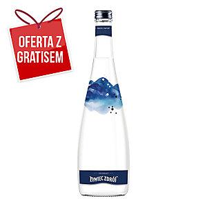 Woda źródlana ŻYWIEC ZDRÓJ gazowana, zgrzewka 12 butelek x 0,7 l w szkle