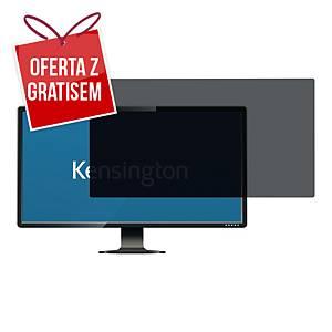 Filtr prywatyzujący KENSINGTON K55796WW 20  16:9, 2 sposoby montażu