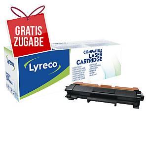 Toner Lyreco kompatibel mit Brother TN2420, Reichweite: 3.000 schwarz