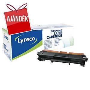 LYRECO kompatibilis toner lézernyomtatókhoz BROTHER TN-2410 fekete