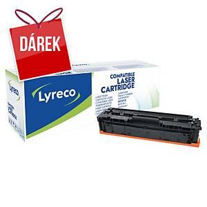 LYRECO kompatibilní laserový toner  HP 203A (CF540A) černý
