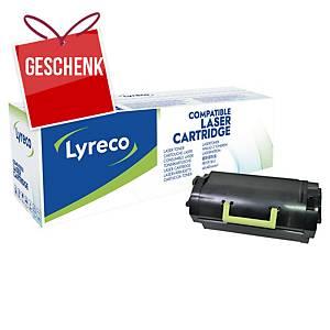 LYRECO kompatibler Lasertoner LEXMARK 52D2H00 schwarz