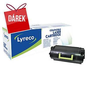 LYRECO kompatibilní laserový toner  LEXMARK 52D2H00 černý