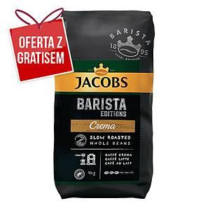 Kawa ziarnista JACOBS Barista Edition Crema, 1 kg
