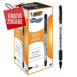 Gelschreiber BIC CEL1010266 Gelocity Stic, Strichstärke: 0,5mm, schwarz