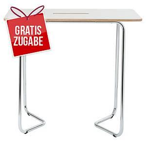 Weißwandtafel Bi-Office Duoro, Maße: 120 x 70cm