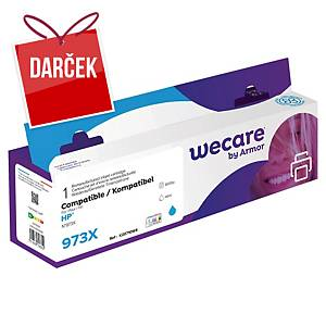 WECARE kompatibilná atramentová kazeta HP 973X (F6T81AE) cyan