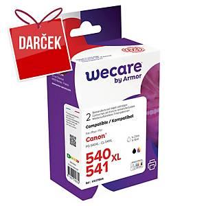 WECARE kompatibilná atramentová kazeta CANON PG-540 (5225B005) 4-farebná Č/C/M/Ž