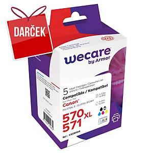 WECARE kompatibilná atrament. kazeta CANON PGI-570/CLI-571 (0372C004) multipack
