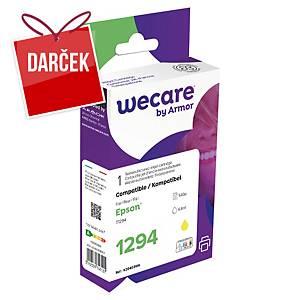 WECARE kompatibilná atramentová kazeta EPSON C13T12944012 žltá
