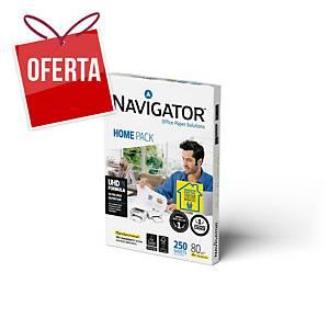Resma 250 folhas de papel A4 Navigator Home Pack 80 g