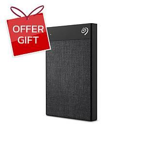 SEAGATE STHH2000400  External Hard Drive Backup Plus Ultra Touch 2TB Black