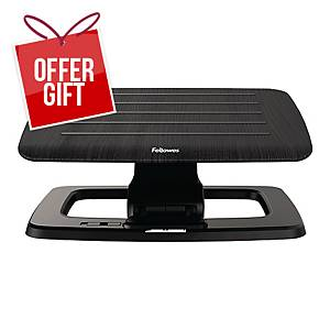 Fellowes 8055201 Hana Series Footrest Black