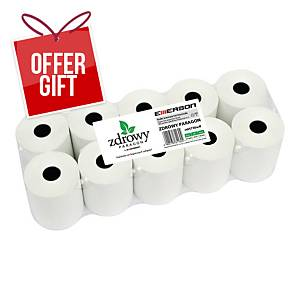 PK10 EMERSON FF THERMAL ROLLS 57MMX30M