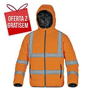 Kurtka ostrzegawcza DELTA PLUS Doon HV, pomarańczowa, rozmiar XL
