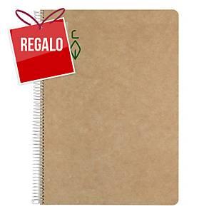 Cuaderno reciciclado Escolofi - A4 - 100 hojas - liso