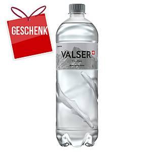 Wasser ohne Kohlensäure Valser, 1L, Packung à 6 Stück