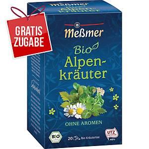 Tee Meßmer Bio Alpenkräuter, 20 Beutel