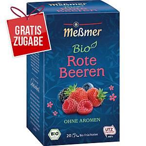 Tee Meßmer Bio Rote Beeren, 20 Beutel