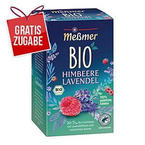 Tee Meßmer Bio Himbeere-Lavendel, 20 Beutel