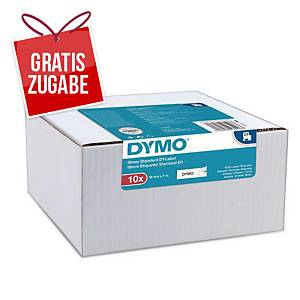 Dymo D1 Band, 9 mm x 7 m, schwarz/weiß