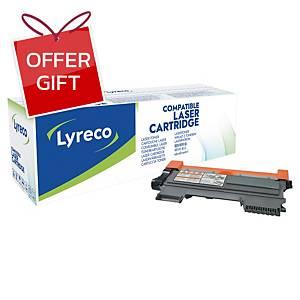 LYRECO TN-2280 COMPATIBLE LASER CARTRIDGE BLACK
