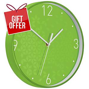 LEITZ WOW CLOCK GREEN