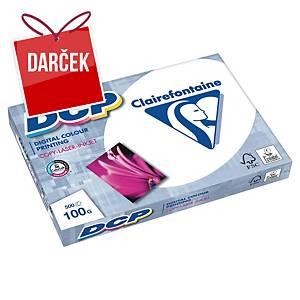 Kancelársky papier DCP Clairefontaine, A3, 100 g/m², biely, 500 list