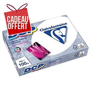 Papier blanc A3 Clairefontaine DCP - 100 g - ramette 500 feuilles