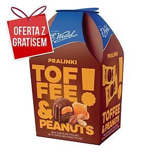 Praliny WEDEL Toffee&Peanuts, 136 g
