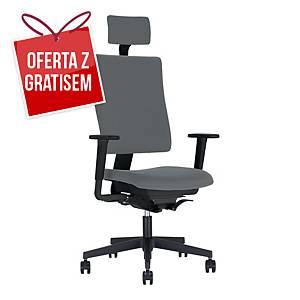 Krzesło biurowe NOWY STYL 4ME, szare*
