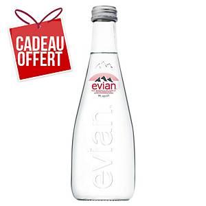Eau Evian 33 cl - carton de 20 bouteilles verre