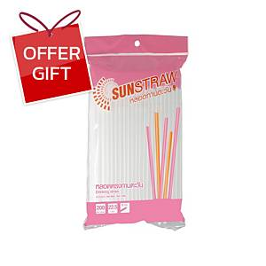 Straw 22.5 Centimetres Pack of 200