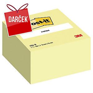 3M Post-it® 636B Samolepiace bločky v kocke 76x76mm, žlté, bal. 450 lístkov