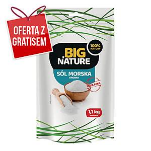 Sól morska BIG NATURE, 1,1k g