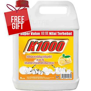 K1000 Dishwash Detergent 5l Lemon