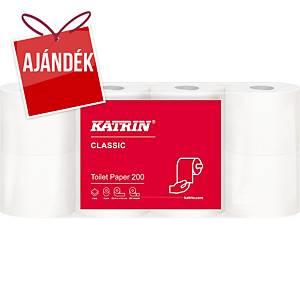 Katrin Classic 104749 tekercses toalettpapír, 56 darab, 2 rétegű